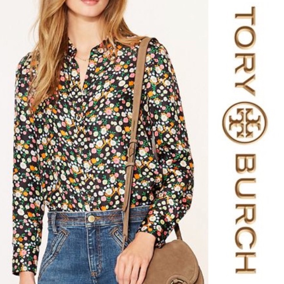 21ff4324cbc9 TORY BURCH • Azra Bow Blouse • Brand New with Tags